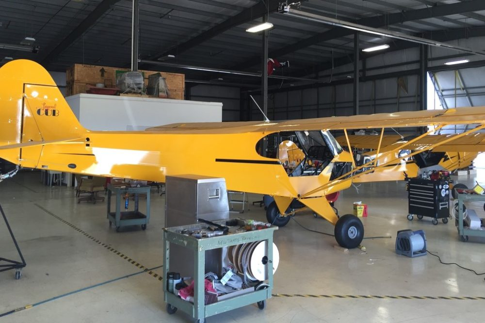 Maintenance at Wings Out West